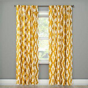 "Project 62 Summer Fret Window Curtain Panel 84"""